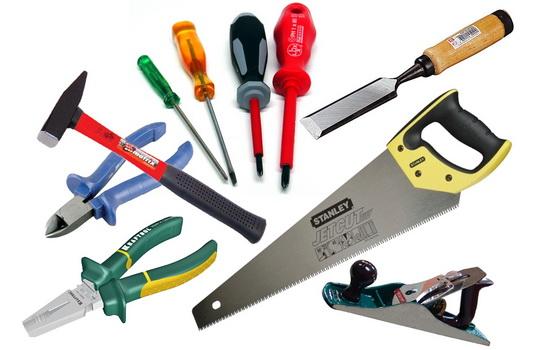 Материал и инструменты для утепления