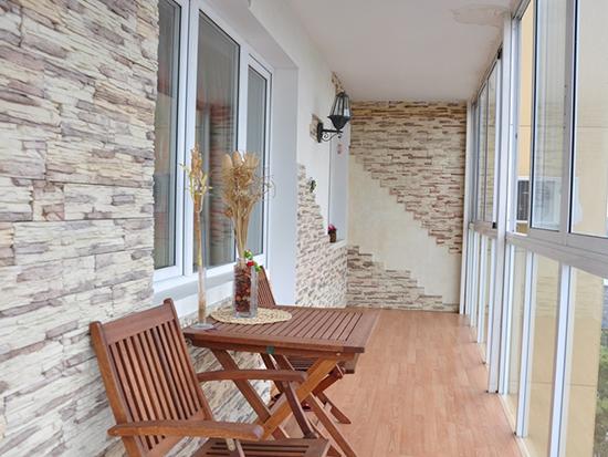 Дизайн панорамные балконы