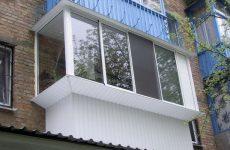 Алюминиевый профиль для остекления балконов и лоджий