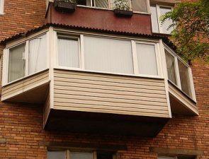 Балкон с выносом. Простой способ увеличить пространство