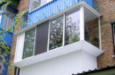 Наружная отделка балкона. Описание возможных вариантов
