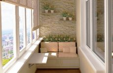 Несколько интересных идей по обустройству балкона