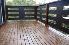Особенности отделки открытого балкона